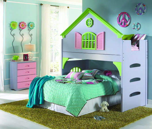 doll house bed - $969 (empire furniture)