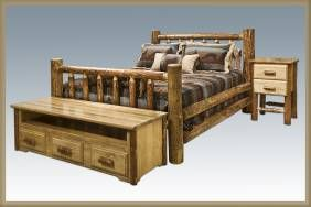 Rustic Log Cabin Furniture - new (Free Delivery)