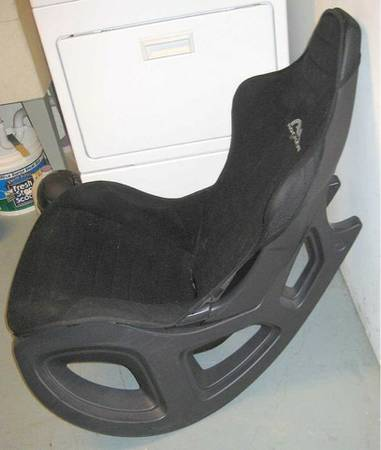 AK rocker gaming chair - $40 (SPID airline)