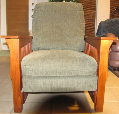 Mission Style Recliner - $120 (Padre Island)