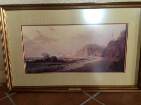 Dalhart Windberg Signed Limited Edition Framed Print - $65 (The Island)