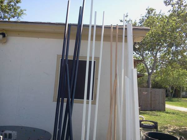 ASST, OAK, AND PRIMED TRIM BOARDS - $20 (corpus)
