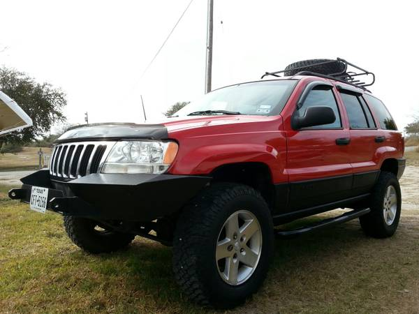 Tow behind Jeep Grand Cherokee - x00247250