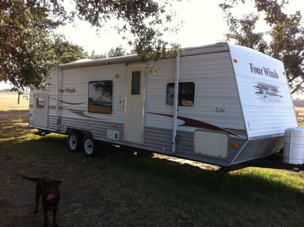 2007 FOUR WINDS TRAVEL TRAILER Bumper Pull - $12600 (Sinton, Texas)