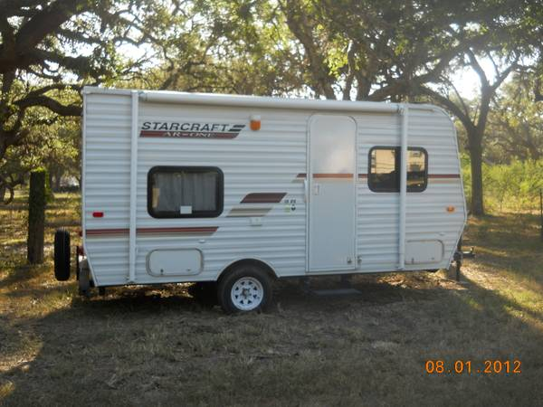 2012 STARCRAFT TRAVEL TRAILER - $8100 (SINTON, TEXAS )