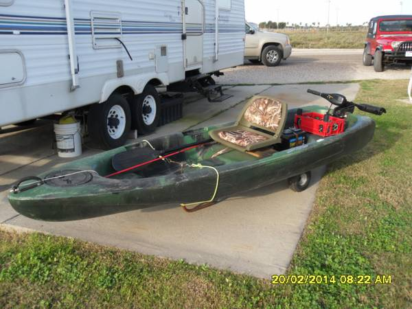 Mainstream Kayak - x0024750 (Aransass Pass)