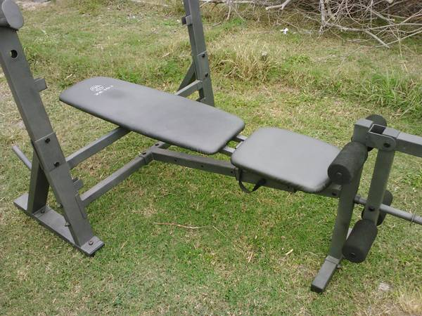 Golds Gym olympic bench new
