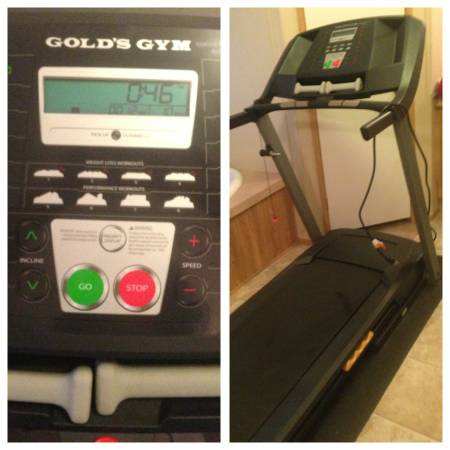 Golds Gym Treadmill- Must Sell ASAP - $400 (Alice, Texas )