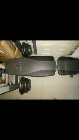Golds Gym Bench Press (Trade or Cash) - $130 (Calallen)