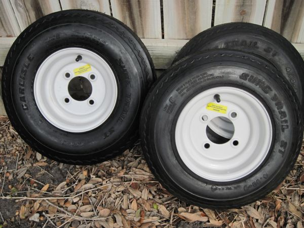 Trailer Tires New - $35 (Southside)