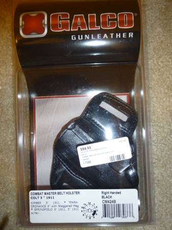 Galco Combat Master Leather Holster - $50 (Corpus Christi)