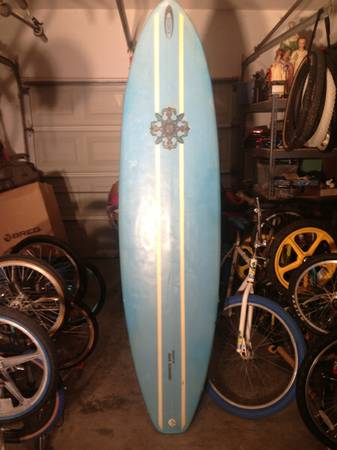 Mark Schneider Vintage Surfboard - $150 (South Side Corpus Christi near the Walmart on Saratoga)
