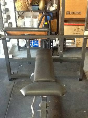 BODYSMITH weight bench and accessories - $500