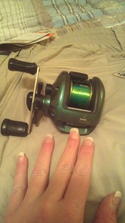 SHIMANO CURADO FISHING REEL, (BANTAM CU-200).  AWESOME CONDITION - $78 (ROCKPORTCORPUS CHRISTI)
