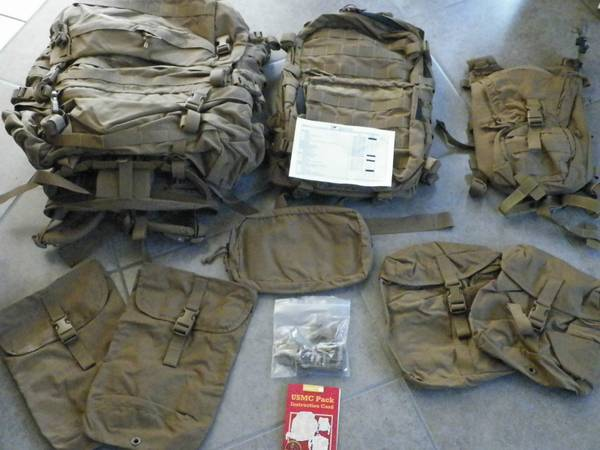 New USMC Issue FILBE Backpack system - $300 (Corpus Christi)