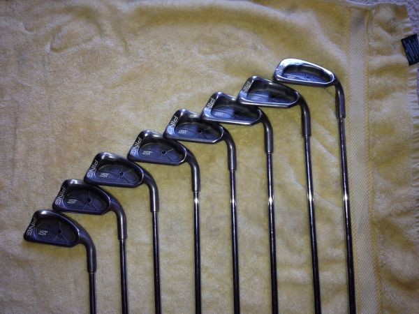 Ping ISI 3-PW Black Dot Golf Clubs - $300