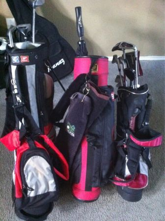 Golf clubs and bags - $125 (South sideCorpus christi)