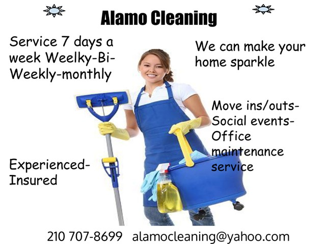 the bestmost affordable cleaning service in san antonio 210 707-8699 alamo cleaning