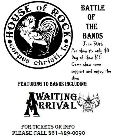 Battle of the Bands - $8 (Corpus Christi)