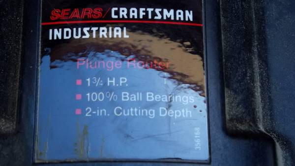 Craftsman Industrial Router and Table - $60 (Beeville)