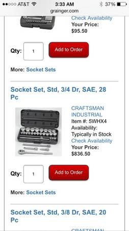 Craftsman socket set(NEW) Joboxs (NEW) - $1 (Corpus ChristiOrange Grove)