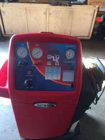 Matco tools robin air ac recycling machine