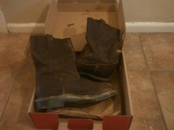 red wing boots 12D - $110