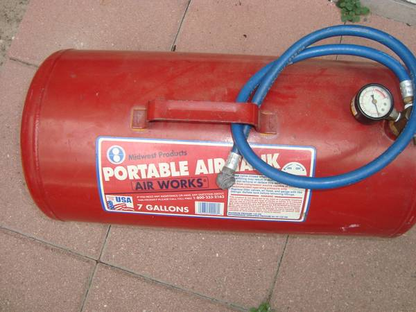 Air Tank, 7 Gallon - $30 (Ingleside, TX)