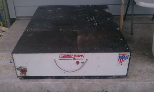 Weather Guard Pack Rat Toolbox - $350 (CC)