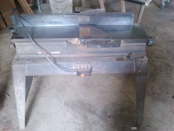 6 Sears craftsman jointer
