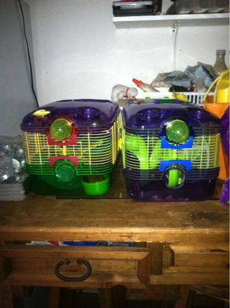 Hamster stuff cheap.. - $20 (Portland tx)