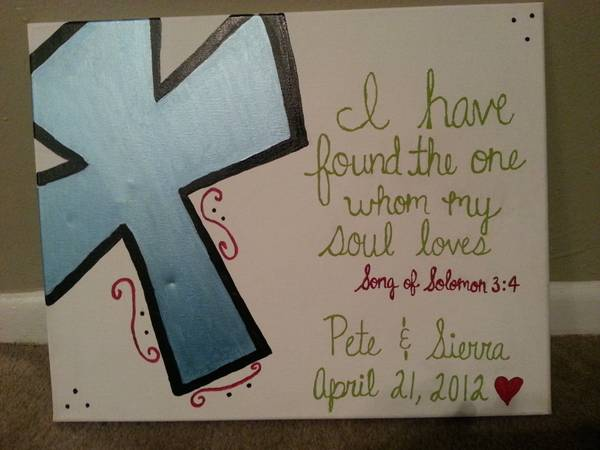 personalized canvas painting (Corpus Christi Tx)