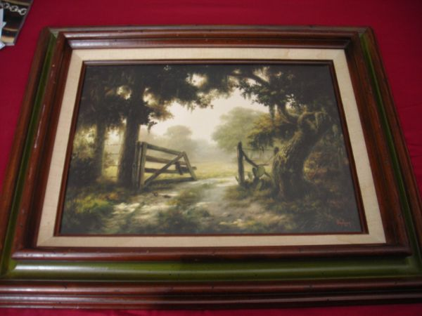 Dalhart Windberg Signed Prints with Original Wood Frame - $50 (Corpus Christi)