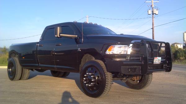 Black 22.5 Dually Wheels - $4000