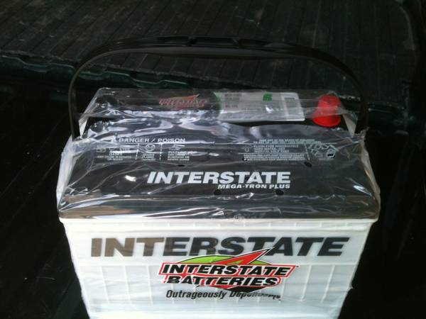 NEW Interstate Battery dual terminals TruckCar - $80 (Poteet, tx)