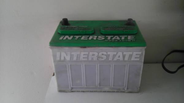 interstate battery - $30 (weber)