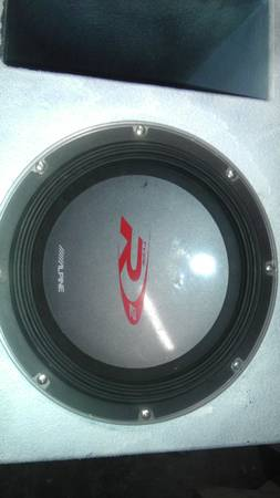 Two Type R 12 inch subs and super bass probox - $500300300 (Weber and Holly)