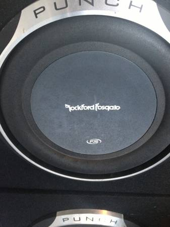 Rockford Forsgate Punch speakers and Amp - $350 (South side )