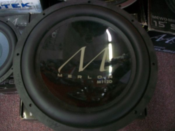 two new15 merlon subwoofers - $130 (corpus)