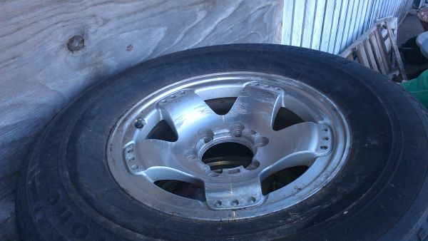 1 set of 4 Tires rims 04- Toyota Tundra - $100 (S. side CC, TX)