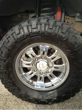 Ford 8 lug WELD forged wheels - $600 (Corpus)