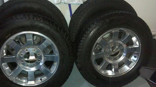 Tires Rims off of a Ford F250 - $1200 (corpus christi)