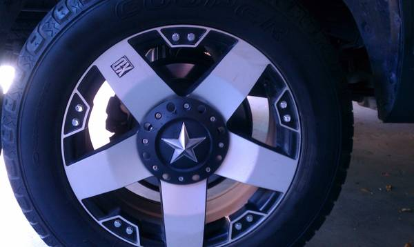 20 Machined Rockstar Rims and Tires - $1000 (Sinton)
