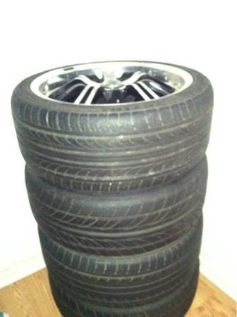 18 konig unknown rims and tires - $350 (Corpus Christi )