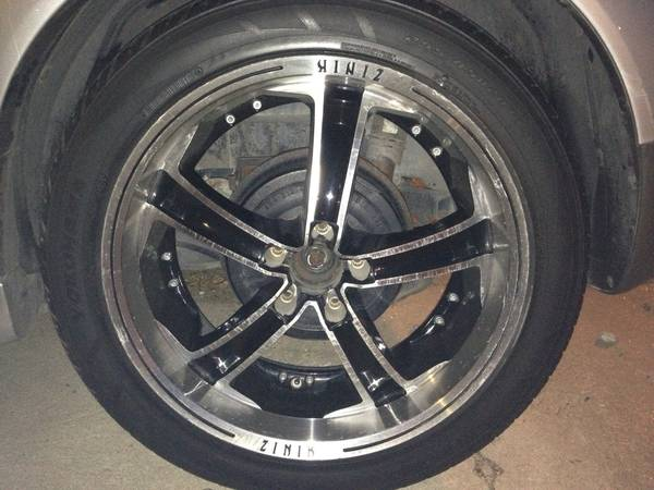 20 Zinik Wheels and Tires - $300 (South side )