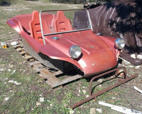 1971 Boonie Buggy GT dune buggy body Meyers Manx clone w extras - $500 (Hill Country Area Kerrville)
