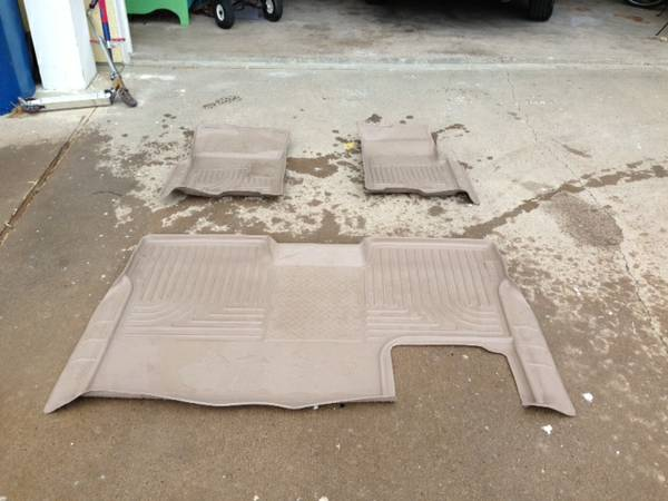 Husky Floor Mats Liners Ford F150 - $125 (Port Aransas)