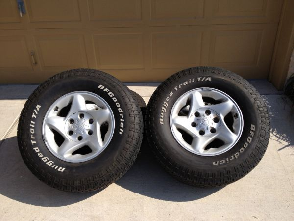 Toyota Tacoma TRD Wheels and Tires - $450 (South Side)