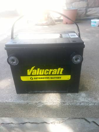 new car battery - $50 (central)