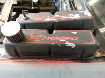 pro mustang 7qt oil pan and 302 parts (corpus christi)
